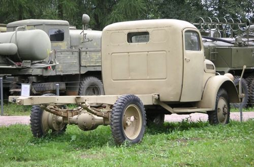 Steyr Type 2000A Light Army Truck, l.gl.Lkw